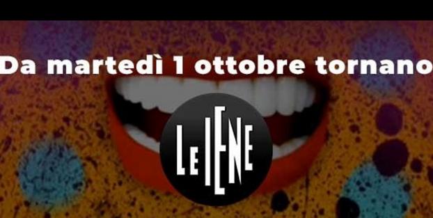 """ITALIA 1 - """" LE IENE SHOW """" * « DAL 1/10/2019 AL TIMONE DEL PROGRAMMA ALESSIA MARCUZZI E NICOLA SAVINO, CON LE VOCI DELLA GIALAPPA'S BAND »"""