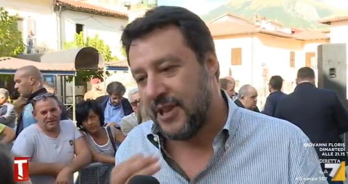 """LA 7 - """" TAGADÀ """": MATTEO SALVINI: « VOTEREMO TAGLIO PARLAMENTARI SE NON È MERCE DI SCAMBIO PER RIFILARE UNA FREGATURA AGLI ITALIANI » (LINK VIDEO)"""