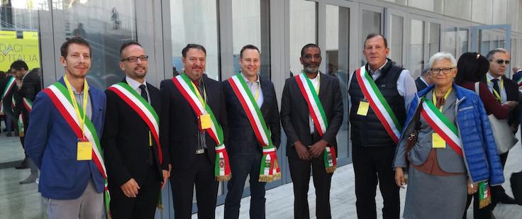 """POSTE ITALIANE * EVENTO """" SINDACI D'ITALIA """" - ROMA: « BARRIERE ARCHITETTONICHE ABBATTUTE, TRE A TRENTO E TRE ANCHE A BOLZANO  »"""