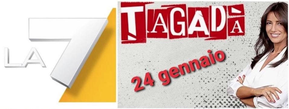"""COMITATO CHICO FORTI * TV LA7 - PROGRAMMA """" TAGADÀ """": « VENERDÌ 24/1 ALLE ORE 16.00 LA CONDUTTRICE TIZIANA PANELLA INTERVISTERÀ LO ZIO GIANNI FORTI »"""