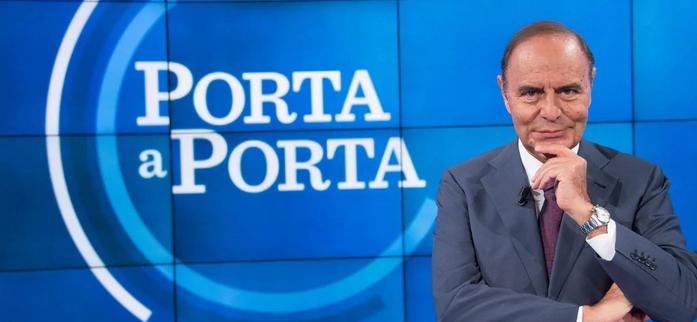 """RAI 1 - """" PORTA A  PORTA """" * « MATTEO SALVINI, SEGRETARIO DELLA LEGA SARÀ INTERVISTATO QUESTA SERA DA BRUNO VESPA »"""