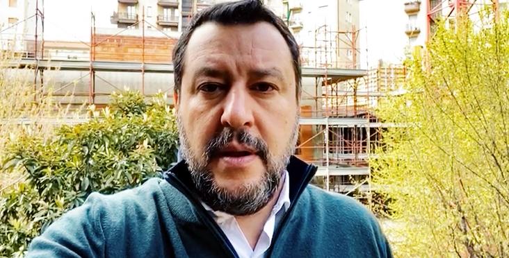 SEN. MATTEO SALVINI * EMERGENZA CORONAVIRUS: « APRITE SÙBITO IL PARLAMENTO, IL PRESIDENTE MATTARELLA CONVOCHI TUTTE LE OPPOSIZIONI UNITE » (VIDEO)