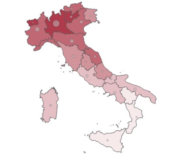 ISS - ISTITUTO SUPERIORE SANITÀ * CORONAVIRUS: « I DATI AGGIORNATI A VENERDÌ 17 APRILE SUL CONTAGIO NELLE REGIONI ITALIANE » (TABELLE PDF ALLEGATE)