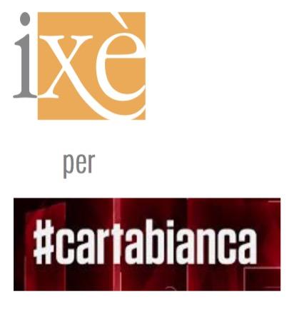 RAI 3 / CARTABIANCA - ISTITUTO IXÈ * INTENZIONI VOTO 16/6/2020: « LEGA 24,3 / PD 22,0 / M5S 16,1 / FDI 14,2 / FI 7,9 / IV 2,7 »