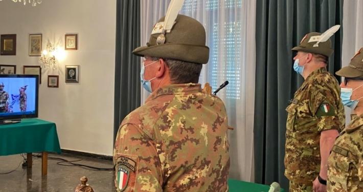 ESERCITO ITALIANO * DIVISIONE TRIDENTINA: « IL GENERALE DI CORPO D'ARMATA MARCELLO BELLACICCO CEDE IL COMANDO AL GENERALE DI DIVISIONE IGNAZIO GAMBA »