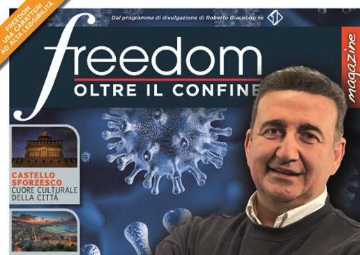 """ITALIA 1 - """" FREEDOM - OLTRE IL CONFINE """" * QUESTA SETTIMANA REPORTAGE DA: « NEW YORK / IL CAIRO / TORINO / BAGNI DI LUCCA / BOMARZO E SUI VIGILI DEL FUOCO»"""