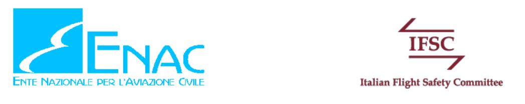 ENAC * ACCORDO DI COLLABORAZIONE CON IFSC: « INTESA FINALIZZATA AD AVVIARE SCAMBI DI CONOSCENZE TECNICHE E SCIENTIFICHE SULLA SICUREZZA DEL VOLO »
