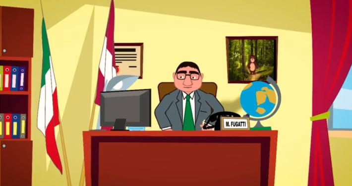 """MARIO CAGOL * SATIRA POLITICA - CARTOON: « TRENTO BREAKING NEWS """"AGGIORNAMENTO DPCM"""", MAURIZIO FUGATTI DISEGNATO DA MARCELLO PLOTEGHER » ( LINK VIDEO)"""