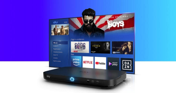 AMAZON E SKY * DISPOSITIVI FIRE TV: « DAL 14 DICEMBRE L'APP PRIME VIDEO DI AMAZON ARRIVERÀ SU SKY Q E SUI DISPOSITIVI NOW TV »