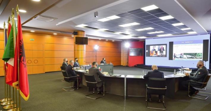 POLIZIA DI STATO * ALBANIA - CAMPAGNA SORVOLI 2020: « CONTRASTO AL TRAFFICO DI STUPEFACENTI, CONDOTTO DAL DIPARTIMENTO PUBBLICA SICUREZZA DEL MINISTERO INTERNO CON CON LA GUARDIA DI FINANZA »