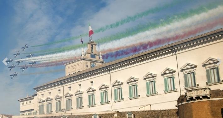 """PRESIDENZA DELLA REPUBBLICA * 160° ANNIVERSARIO UNITÀ D'ITALIA - """" GIORNATA DELLA COSTITUZIONE, INNO E BANDIERA """": MATTARELLA, « EDIFICARE UN PAESE PIÙ UNITO E SOLIDO »"""