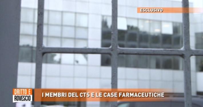 """MEDIASET - RETEQUATTRO * """" DRITTO E ROVESCIO """": « LE RIVELAZIONI SULLE CONSULENZE FARMACEUTICHE MAI DICHIARATE DA ALCUNI MEMBRI DEL CTS »"""