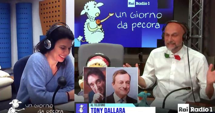 """RADIO 1 - """" UN GIORNO DA PECORA """" * COVID: TONY DALLARA. « A 84 ANNI IN LOMBARDIA HO DOVUTO AFFITTARE A MIE SPESE UN'AMBULANZA PER ANDARE A VACCINARMI, FA RABBIA »"""