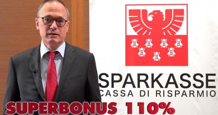 SPARKASSE - CASSA RISPARMIO - VIDEOINTERVIEW A MORITZ MORODER, VERANTWORTLICHER DIRECTION COMMERCIAL BANKING * KONZENTRIEREN SIE SICH AUF: « SUPERBONUS 110% »