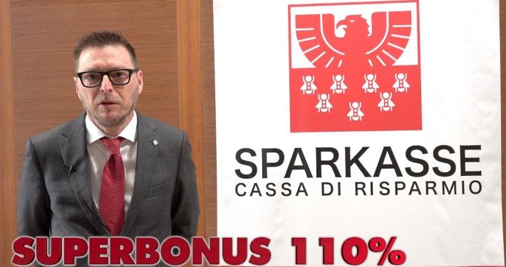SPARKASSE - CASSA RISPARMIO - VIDEOINTERVISTA A STEFANO BROLL, CAPO SERVIZIO MARKETING PRODOTTI E CAMPAGNE * FOCUS SU: « SUPERBONUS 110% »