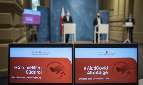 PROVINCIA AUTONOMA BOLZANO * #AIUTICOVID: « 100 MILIONI DI CONTRIBUTI A FONDO PERDUTO PER LE IMPRESE, DOMANDE DA METÀ APRILE »