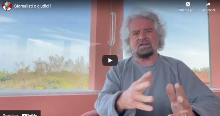 GIUSEPPE CONTE * BEPPE GRILLO (ALLEGATO VIDEO): « COMPRENDO L'ANGOSCIA DI UN PADRE, MA VA PROTETTA LA GIOVANE RAGAZZA DIRETTAMENTE COINVOLTA »