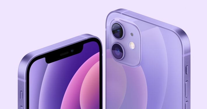 CUPERTINO - CALIFORNIA * « APPLE INTRODUCES IPHONE 12 AND IPHONE 12 MINI IN A STUNNING NEW PURPLE »