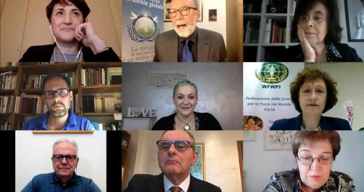 UPF E WFWP - ITALIA * GIORNATA DELLA FAMIGLIA: BALDINI, « SI IMPARA NON SOLO A CAMMINARE, MA ANCHE AD APPRENDERE I VALORI CHE POI DELINEANO LE PERSONE »