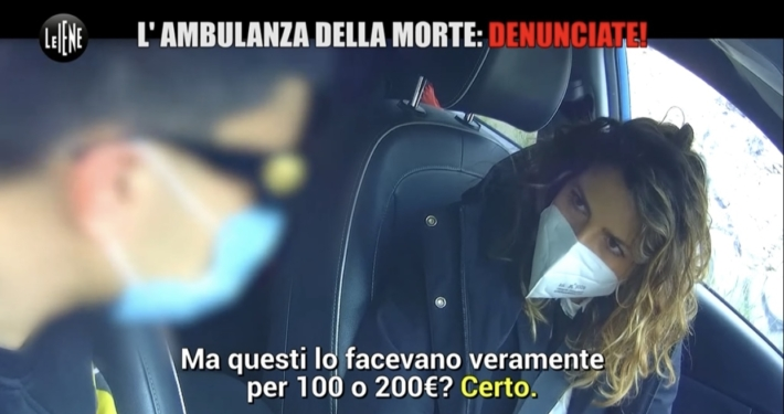 ITALIA 1 * LE IENE: « QUESTA SERA IN ONDA L'INCHIESTA SULLE AMBULANZE DELLA MORTE, ERGASTOLO AL BARELLIERE DAVIDE GAROFALO »