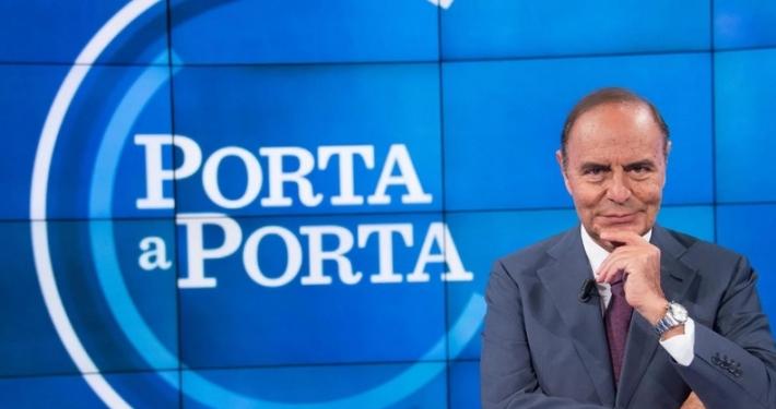 """RAI 1 * """" PORTA A PORTA """": """" LA LEADER DI FRATELLI D'ITALIA GIORGIA MELONI OSPITE DI BRUNO VESPA MARTEDÌ 11 MAGGIO """" (ORE 23.55)"""