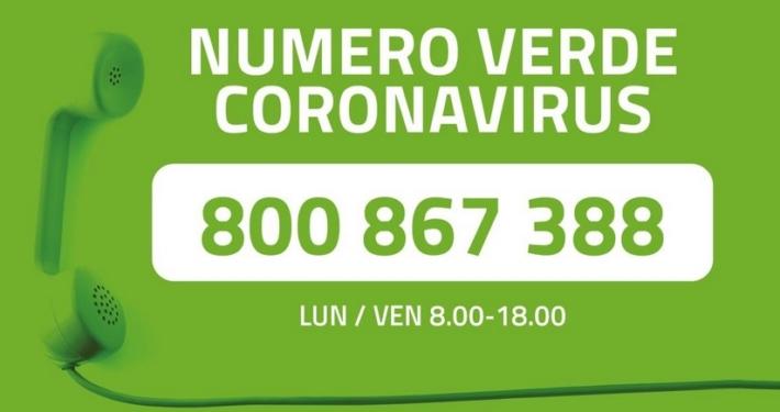PROVINCIA AUTONOMA TRENTO * COVID: « CAMBIA L'ORARIO PER IL NUMERO VERDE 800/867388, SERVIZIO ATTIVO DA LUNEDÌ A VENERDÌ CON ORARIO 08.00-18.00 »