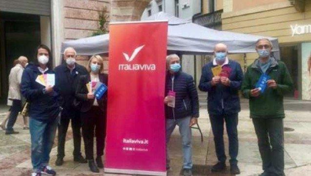 ITALIA VIVA - TRENTINO * #IVINPIAZZA: SEN. CONZATTI, «È STATO IMPORTANTE TORNARE NELLE PIAZZE AD INCONTRARE I CITTADINI, DOPO QUESTO LUNGO TEMPO DI LIMITAZIONI »