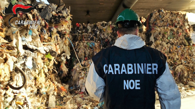 CARABINIERI NOE - MILANO * « ARRESTI PER TRAFFICO ILLECITO DI RIFIUTI METALLICI NEL NORD ITALIA, ILLECITI PROFITTI PER 1.9 MILIONI »