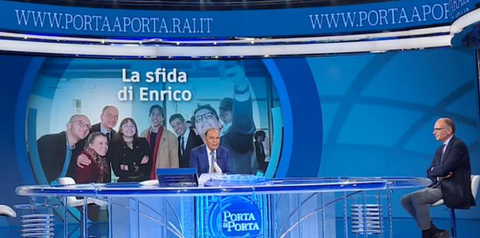 """RAI 1 - """" PORTA A PORTA """" * PUNTATA DEL 3 GIUGNO 2021, « LA SFIDA DI ENRICO LETTA » RIVEDI / REPLAY / REPLICA - (VIDEO INTEGRALE)"""