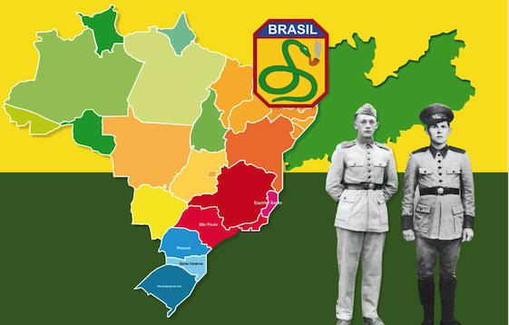 """COMUNE SFRUZ (TN) * """" FORÇA EXPEDICIÓNARIA BRASILEIRA - DURANTE LA SECONDA GUERRA MONDIALE: « VENERDÌ ALLE 19.30 AL VIA LA MOSTRA DELL'UNIONE FAMIGLIE TRENTINE ALL'ESTERO »"""