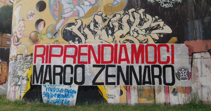 """CASAPOUND ITALIA * """" RIPRENDIAMOCI ZENNARO """": « STRISCIONI AFFISSI IN 100 CITTÀ ITALIANE, NON VOGLIAMO RISCHIARE CHE RIMANGA A MARCIRE IN UNA PRIGIONE NELLA TOTALE INDIFFERENZA »"""