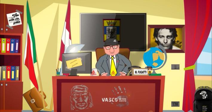MARIO CAGOL * SATIRA POLITICA: « VASCO ROSSI IN CONCERTO A TRENTO, IL VIDEO-PARODIA SUL PRESIDENTE FUGATTI » (LINK YOUTUBE)