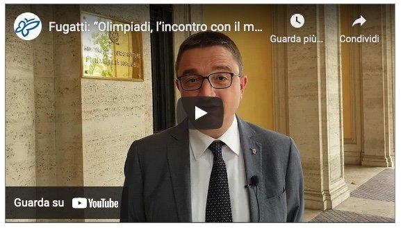 PROVINCIA AUTONOMA TRENTO * FUGATTI A ROMA: « OLIMPIADI 2026, IL PUNTO CON IL MINISTRO GIOVANNINI SU IMPIANTI SPORTIVI E INFRASTRUTTURE » (VIDEOINTERVISTA)