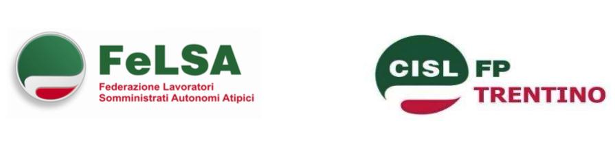 FELSA CISL - FP CISL - TRENTINO * APSS - LAVORATORI INTERINALI: FERRARI E PALLANCH, « PRONTI A DICHIARARE LO STATO DI AGITAZIONE, SE NON CI SARÀ UN CONFRONTO »