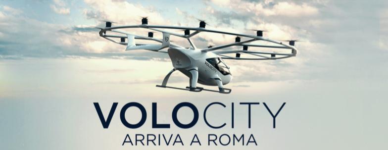 """MEDIA RELATION ATLANTIA - AEROPORTI DI ROMA * URBAN AIR MOBILITY: « IL 27 OTTOBRE LA PRESENTAZIONE DELL'INNOVATIVO DRONE  """"VOLOCITY"""", APPUNTAMENTO ALLO SCALO LEONARDO DA VINCI »"""